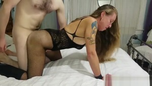 The best sex amateur in sexy stockings