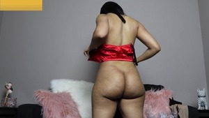 Nailed rough big ass ebony female in lingerie